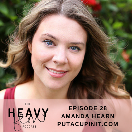 Heavy Flow Podcast Episode 28 - How do menstrual cups work with Amanda Hearn Put a Cup In It