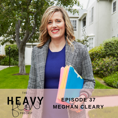 Heavy Flow Podcast Episode 37 Clinical Gender Bias in the Gyno Ghetto with Meghan Cleary